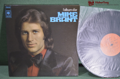 Винил, 1 lp. Майк Бранд. Mike Brant L'album D'or. CBS, Франция.