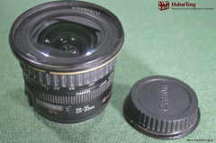 "Объектив ""Кэнон"", Япония. Canon Lens, made in Japan. Ultrasonic EF 20-35 mm."